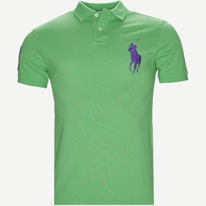 Polo T-shirt - T-shirts - Slim - Grøn